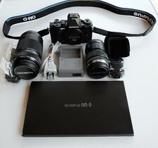 Olympus e-m5 Mark II twin lens kit