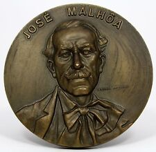 Bronze Medal / José Malhoa Portuguese painter / biography on the back by Antunes
