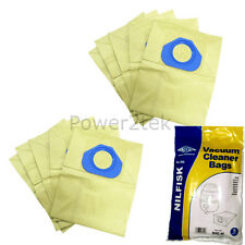 10 x G Dust Bags for Nilfisk GM80 GM80 Limited GM80C Vacuum Cleaner