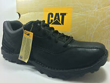 CATERPILLAR Movement Oxford Size 10 M Black Leather Shoes P73950 $90