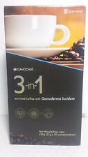 GANOCAFE 3 IN 1 GANODERMA  (20 SACHETS x 21 gr)  EXPIRATION DATE 07/2019 NEW