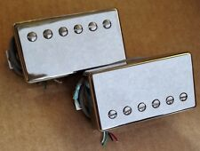 Genuine USA Nickel Gibson Classic 57 & 57+ Plus Humbucker Guitar Pickup set NEW