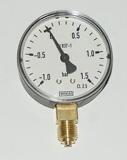 "Vacuum Pressure Gauge 63mm x 1/4"" connection slurry tanker"