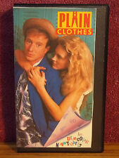 Plain Clothes VHS Video 1988 Arliss Howard Suzy Amis Diane Ladd Whodunnit Comedy