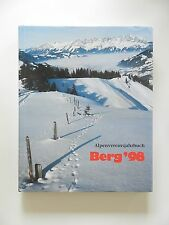 Berg 98 Alpenvereinsjahrbuch Band 122 der Zeitschrift 1998 inkl Karte ÖAV DAV