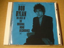 CD / BOB DYLAN - THE BEST OF THE ORIGINAL MONO RECORDINGS