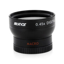 Albinar 37mm Wide Angle Lens with Macro for Sony HDR CX160 CX130 XR160, New USA