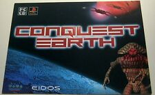 Advertising Game Playstation Conquest Earth Eidos - unposted