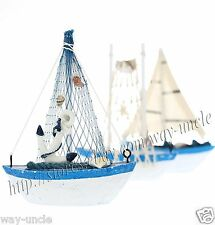 little boat model nautical decoration Random shipping marine tabletop ornament