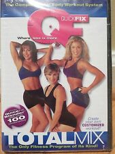 Quick Fix Total Mix Workout DVD Total Body Fitness Program NEW