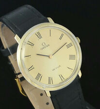 1968 VINTAGE OMEGA DEVILLE 620 MANUAL WIND MENS WRIST WATCH – 111.007 MINT DIAL