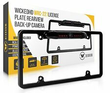 WickedHD WRC-221 Car Rearview Reverse Back-Up Camera Kit Wide 170° Viewing Angle