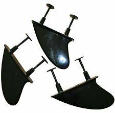 Soft Surfboard Fin Kit - Standard Replacement Fins and screws