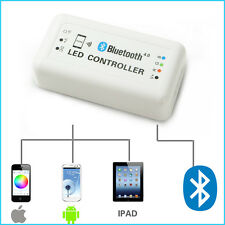 12V Wireless Bluetooth V4.0 RGB LED Halo Wheel Light Controller For iOS Android