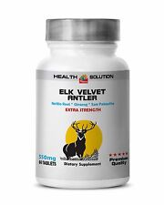 saw palmetto extract - ELK VELVET ANTLER - Helps maintain joint mobility - 1 Bot