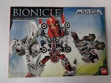 LEGO Instruction Notice BIONICLE Toa Tahu (8689)