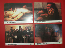 FLAMING BROTHERS 1987 CHOW YUN FAT ALAN TANG UNIQUE EXYU LOBBY CARDS