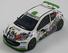 PEUGEOT 207 S2000 MAIANI MONZA RALLY SHOW 2016 DECALS 1/43