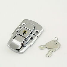 LARGE CHROME TOGGLE CASE LOCK Trunk Box Chest Suitcase Locking Latch Catch  XW