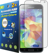 2x Anti-Glare LCD Screen Protector Guard for T-Mobile Samsung Galaxy S5 SM-G900T