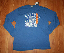 NWT Official Licensed NHLNEW YORK RANGERS 1926 Hockey Blue L/S T-Shirt Size XXL