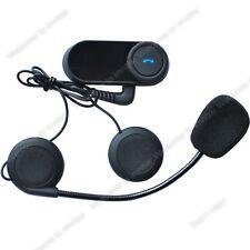 Casco De Moto Bluetooth Motocicleta Auricular Cabezal Manos Libres para Música