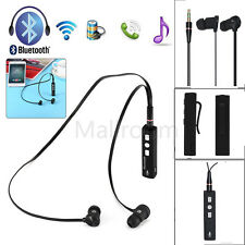 Bluetooth Earphones Wireless Headset Stereo Headphones Sport Universal Handfree