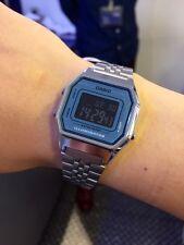 Casio RETRO SILVER&BLUE WATCH LA680WA-2BE orologio last season reloj MONTRE UHR