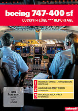 Boeing 747-400 SF - Cockpit-Flüge - Reportage - DVD - NEU - Take-off TV