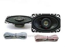 "Kenwood KFC-4675C 120 Watts 4"" x 6"" Coaxial 2-Way Car Audio Speakers 4""x6"" New"