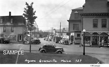 1930's Greenville Indian Store Moosehead Lake Maine Restaurant