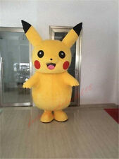 Halloween Brand Pokemon Go Pikachu Mascot Costume Cosplay Game adults dress HOT