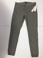 HUDSON  NEW WOMEN`S JEANS NICO MIDRISE SUPER SKINNY SIZE 30 IN PEBB CORDUROY
