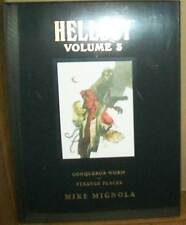 HELLBOY LIBRARY EDITION VOL 3 CONQUEROR WURM & STRANGE PLACES HC #smay15books-16