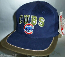 AMERICAN NEEDLE Vintage Snapback Cap MLB Chicago Cubs 90s NOS NEU