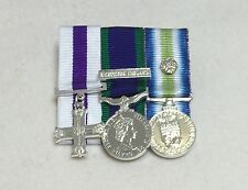 Military Cross, GSM Northern Ireland, Falklands, Miniature Court Mounted Medals