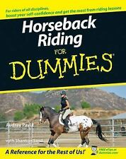 Horseback Riding For Dummies (For Dummies (Sports & Hobbies)) by Audrey Pavia