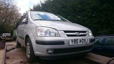 HYUNDAI GETZ HEADLIGHT RIGHT FRONT O/S/F OF SIDE BREAKING 2004 AUTOMATIC 1.6