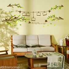PHOTO FRAME TREES BRANCH KIT STICKERS ROOM WALL ART VINYL DECALS HOME DECORATION
