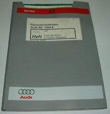 Werkstatthandbuch Audi A6 Typ C5 4B 4 Zylinder Motor 20V AJP ab Baujahr 1998!