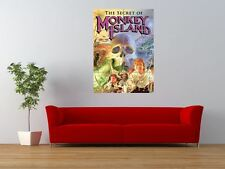 MONKEY ISLAND COMPUTER GAME RETRO PC GIANT ART PRINT PANEL POSTER NOR0045