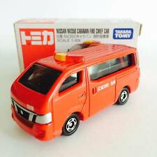 Takara Tomy Tomica No.27 Nissan NV350 CARAVAN Fire Chief Car - Hot Pick