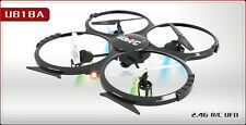 New U818A Large Quadcopter with Camera UFO LCD Remote RC Drone Helicopter 2.4G