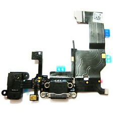 For iPhone 5 Black Headphone Audio Jack Charger Port Dock Flex Ribbon Cable New