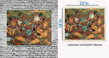 meSleep Art On Wall Canvas painting without frame -Krishna  Art pc-01-0069