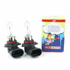 HB3 100w Clear Halogen Xenon HID High Main Full Beam Headlight Bulbs