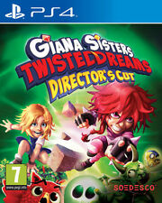 Giana Sisters Twisted Dreams Director's Cut PS4 * NEW SEALED PAL *