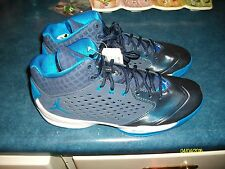 NIKE JORDAN RISING HIGH MENS SIZE 9 BASKETBALL SHOES MIDNIGHT NAVY NWT