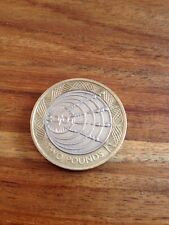 UK £2 Pound Coin 2001 Marconi 1st Wireless Transatlantic Circulated