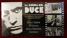 B2/ FILM VHS LA GUERRA DEL DUCE DALL'UNITA' D'ITALIA ALLA GRANDE GUERRA SIGILLAT